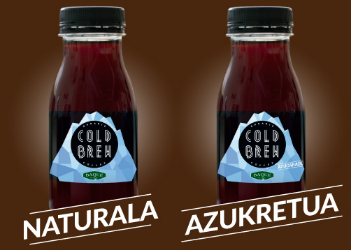 Naturala edo Azukretua Cold Brew