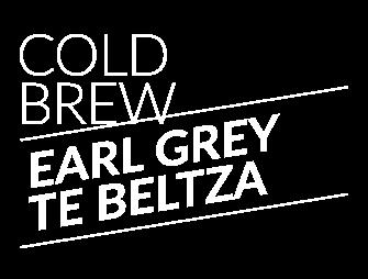 Cold Brew Earl Grey Te Beltza