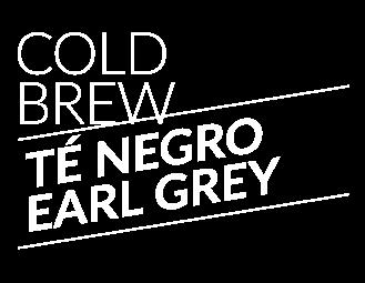 Cold Brew Té negro earl grey