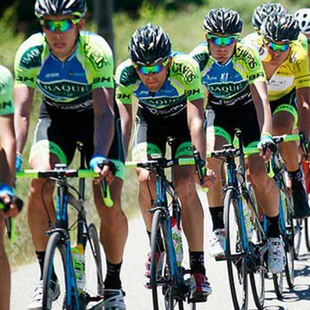 El equipo ciclista Baqué BH Team ya está pedaleando fuerte