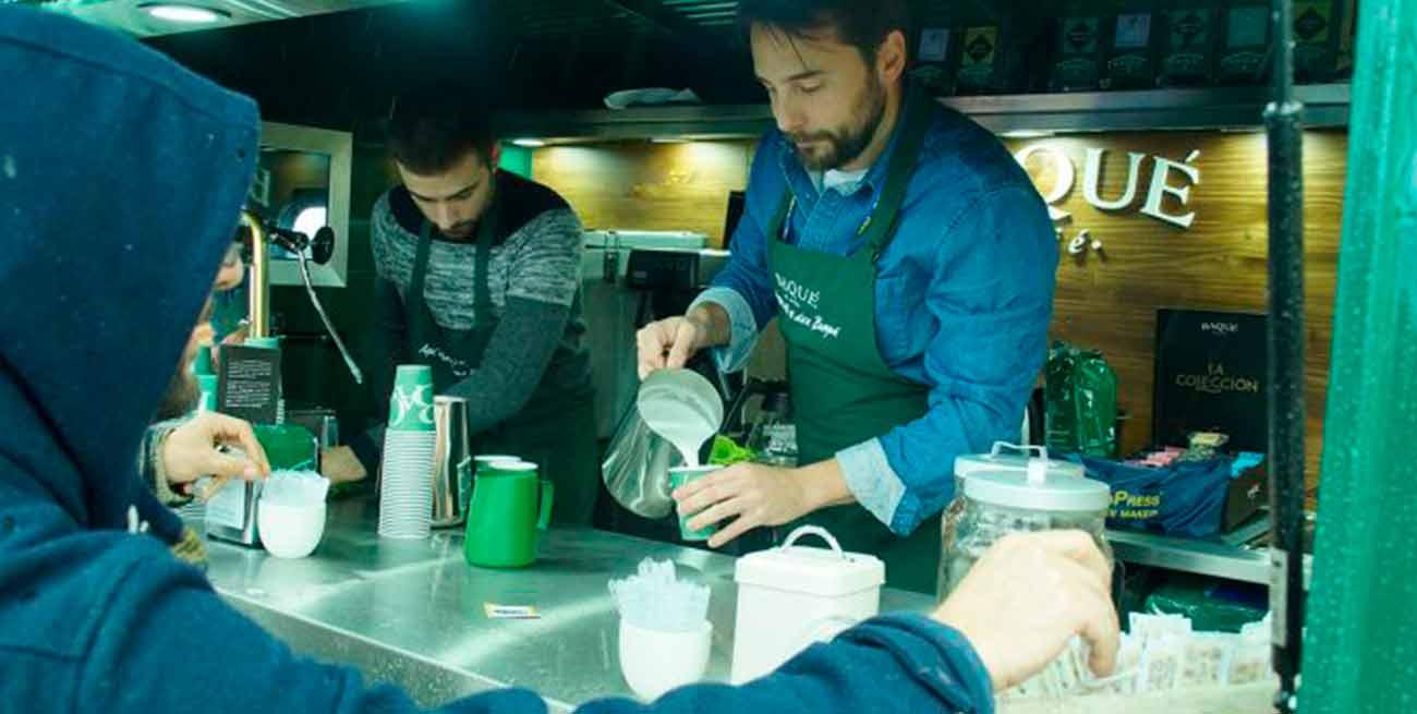 El aroma de Cafés Baqué en el Food Truck Forum 2017