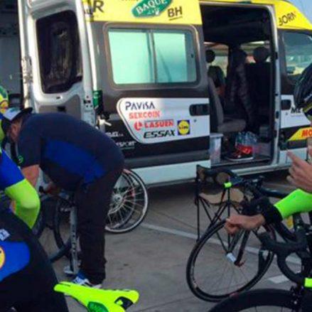 El Baqué-BH Team comienza con buenas sensaciones la 39ª temporada en el ciclismo