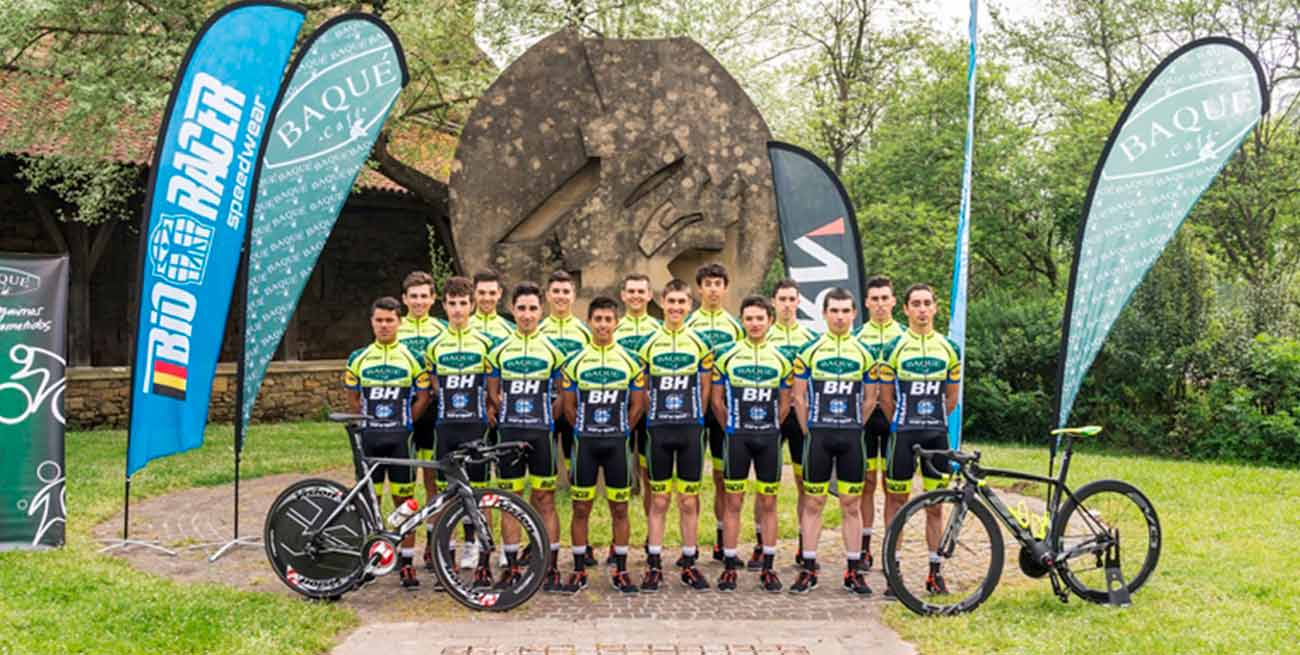 Baqué BH Team: el ciclismo de cantera a la búsqueda del 40 aniversario