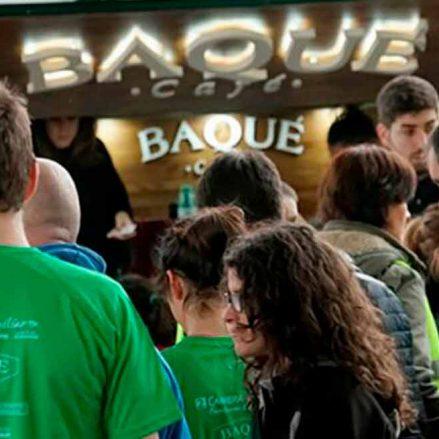 Una marea verde se da cita en la carrera familiar en Durango patrocinada por Cafés Baqué