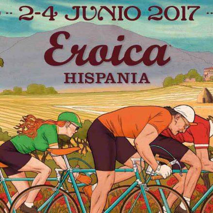 Cafés Baqué en Eroica Hispania 2017: café y ciclismo van de la mano