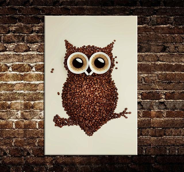 Ideas de decoraci n y manualidades con caf for Manualidades rusticas para el hogar