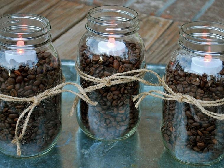 Ideas De Decoracion Y Manualidades Con Cafe - Manualidades-y-decoraciones-para-el-hogar