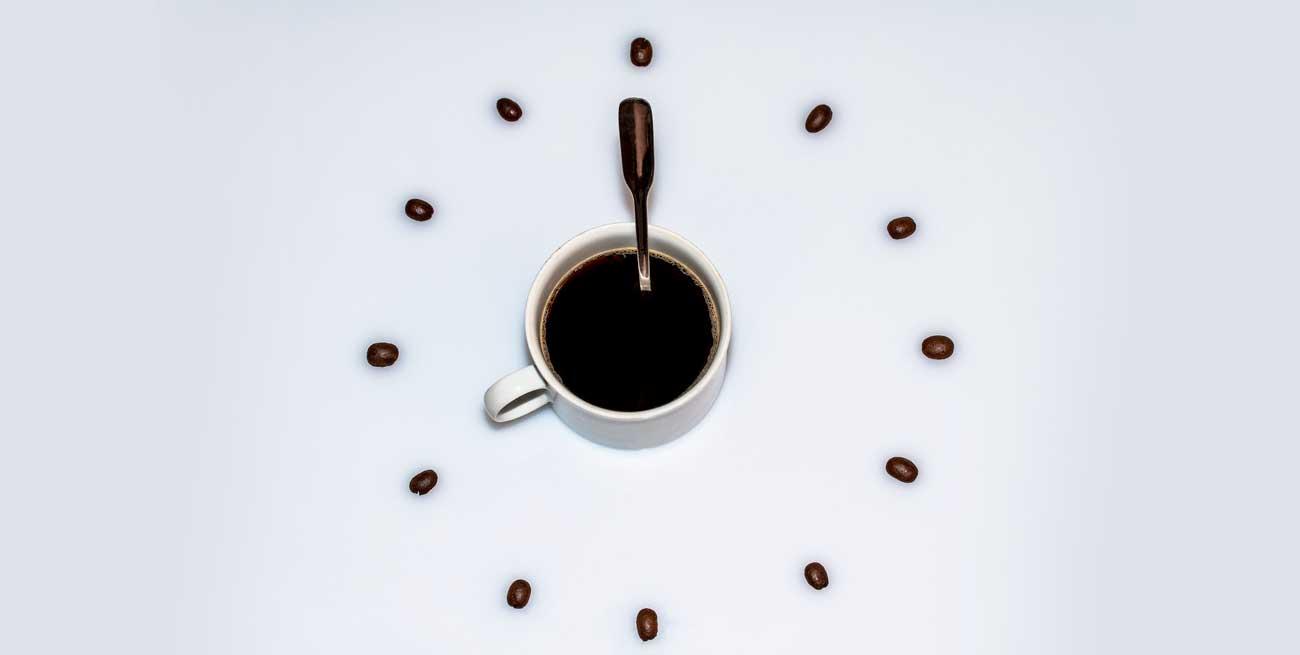 Cuál es la mejor hora para tomar café