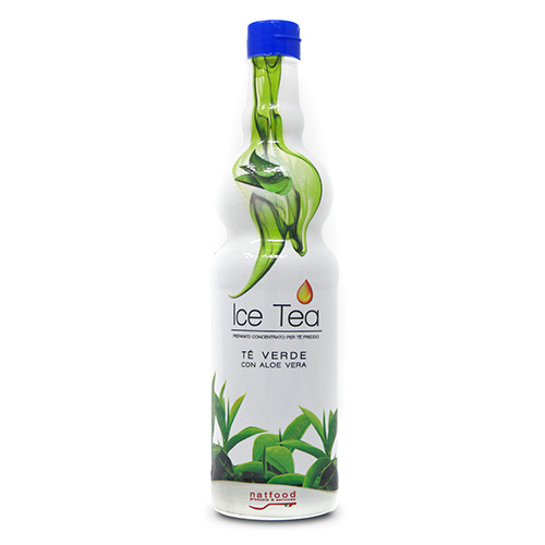 Icea Tea Té Verde con Aloe, 750 ml.