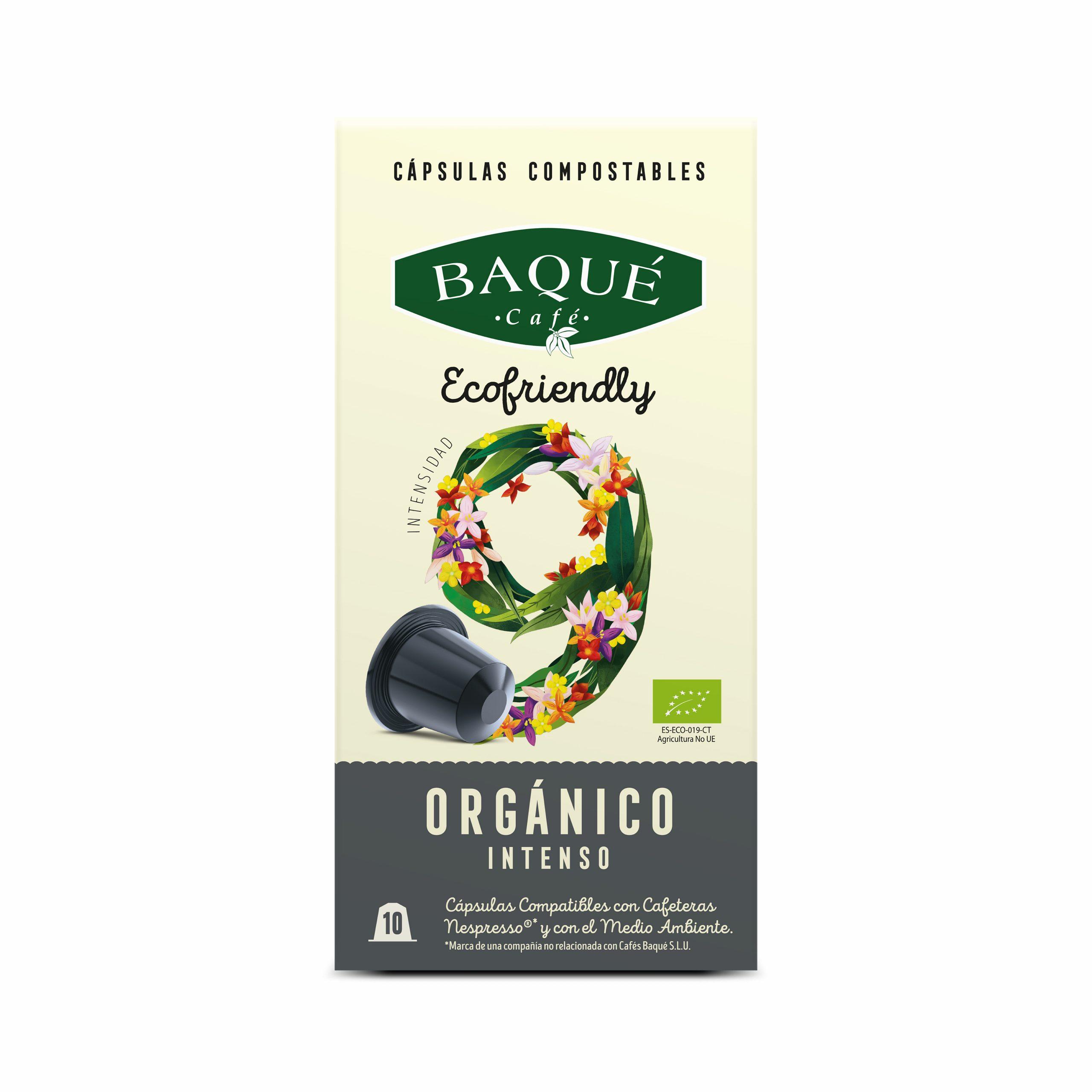 Organiko Bizia 10 kapsula konpostagarri Nespresso®-rekin bateragarriak
