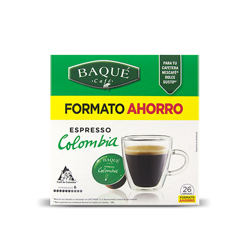 Espresso Kolonbia, 26 kapsula DG (aurrezteko formatua)