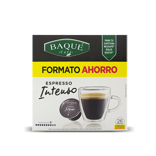 Espresso Intenso, 26 cápsulas Dolce Gusto® (formato ahorro)
