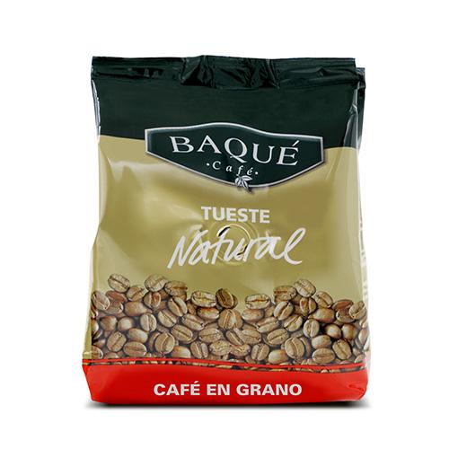 Café en grano Natural, 250 g.