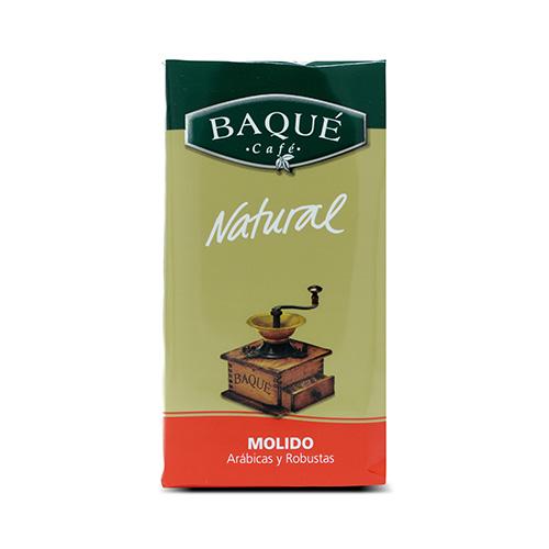Café molido Natural, 250 g.