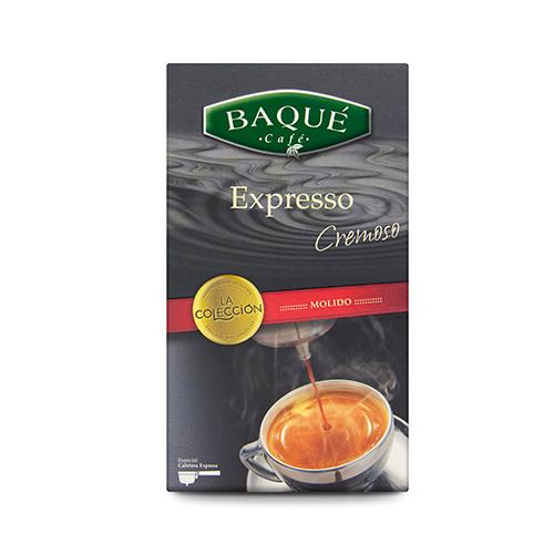 Café molido Expresso Cremoso, 250 g.
