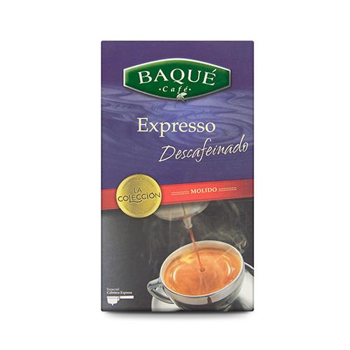 Café molido Expresso Descafeinado, 250 g.