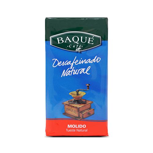 Café molido Descafeinado, 250 g.