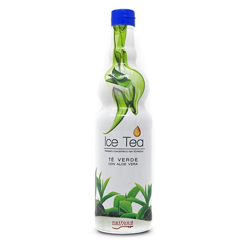 Icea Tea Té Verde con Aloe, 750 ml.