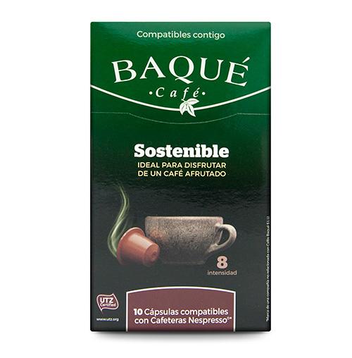 Iraunkorra 10 kapsula bateragarriak Nespresso®-rekin