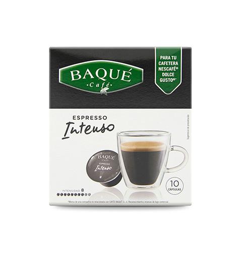 Espresso Intenso 10 cápsulas compatibles Dolce Gusto®