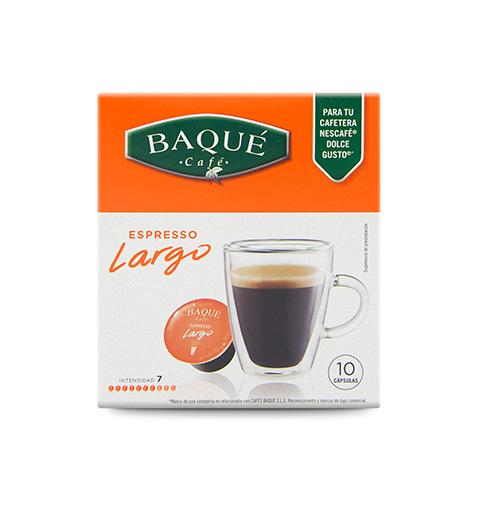Espresso Largo 10 cápsulas compatibles Dolce Gusto®