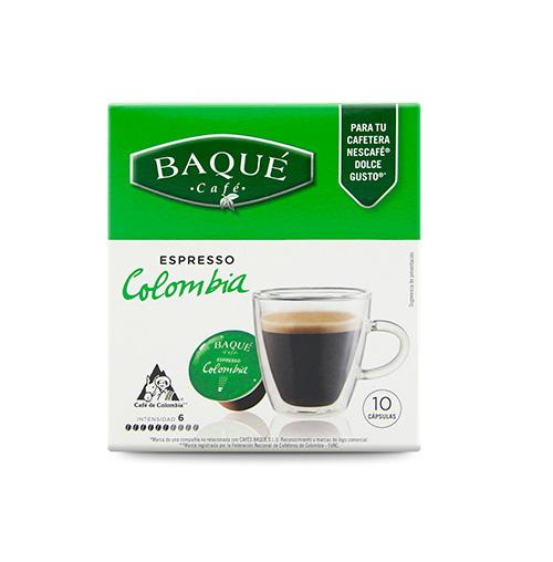 Colombia 10 cápsulas compatibles Dolce Gusto®