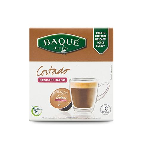 Descafeinado Cortado 10 cápsulas compatibles Dolce Gusto®