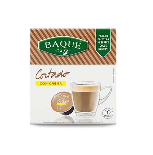 Cortado Crema 10 cápsulas compatibles Dolce Gusto®