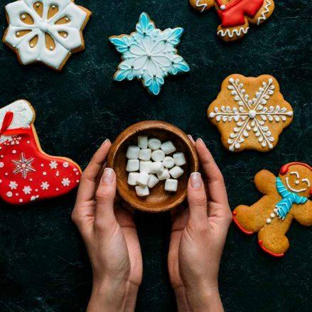 Cómo preparar y servir el café en Navidad