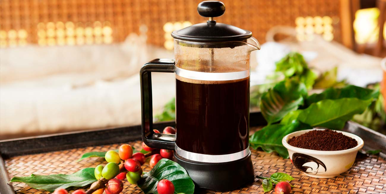 Cómo preparar bien el café con cafetera de émbolo