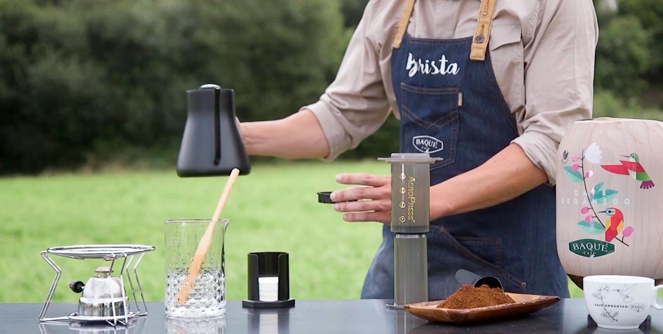 Cómo preparar un café en Aeropress