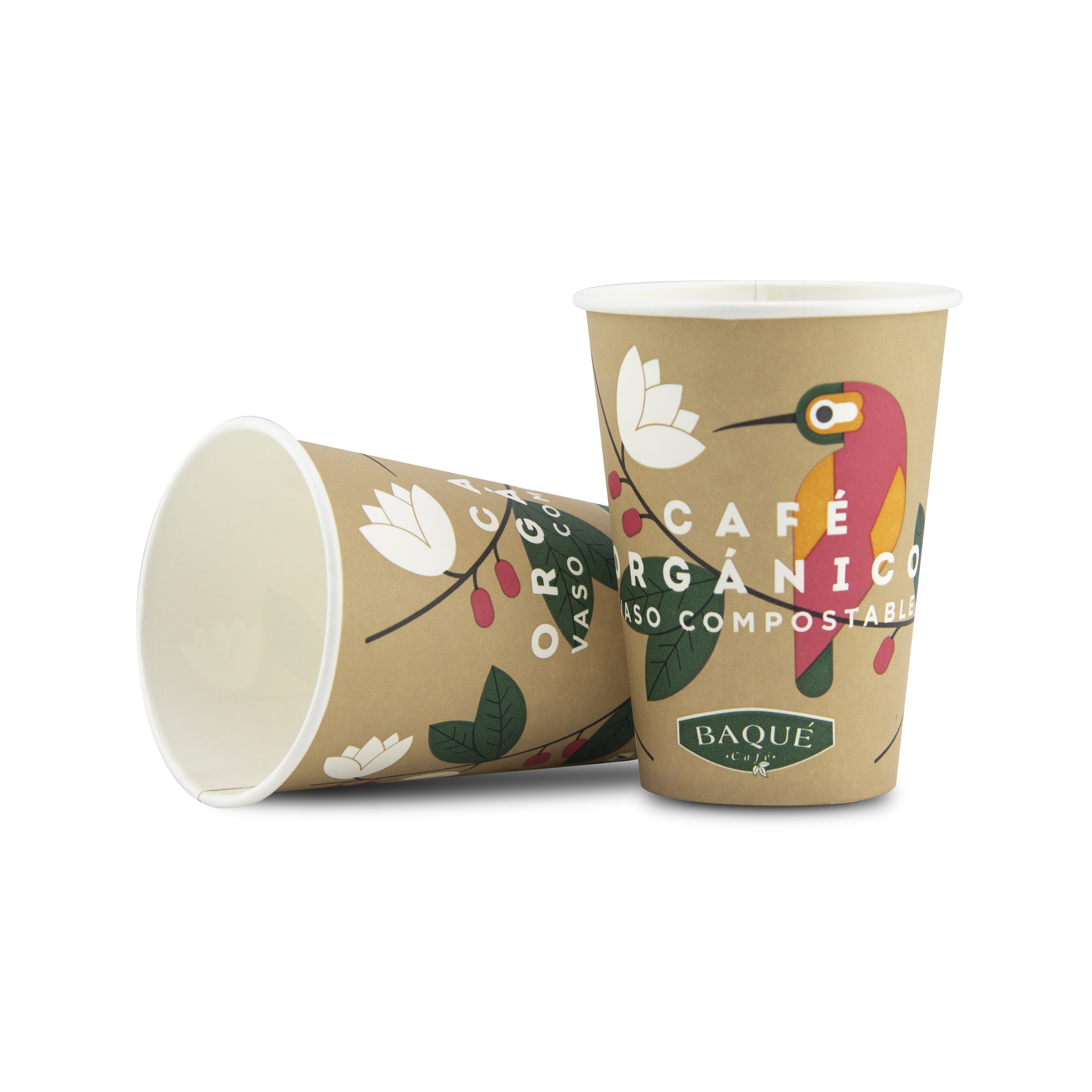 VASO COMPOSTABLE 7,5 OZ 100 UDS.