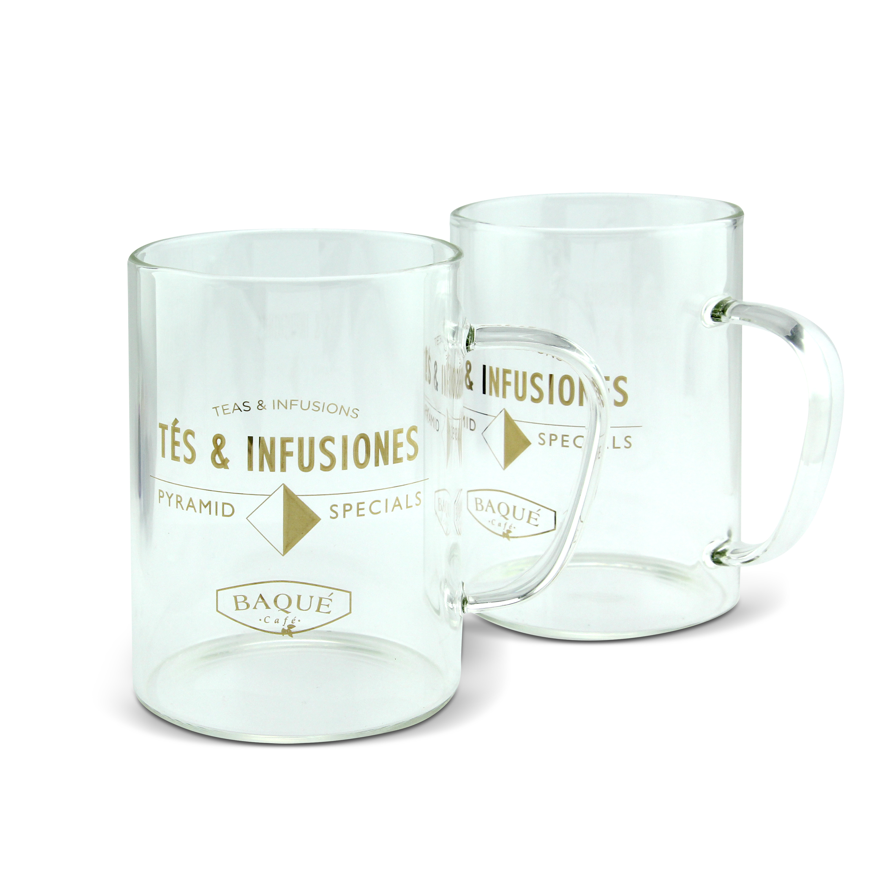 BOROSILICATE GLASS CUPS