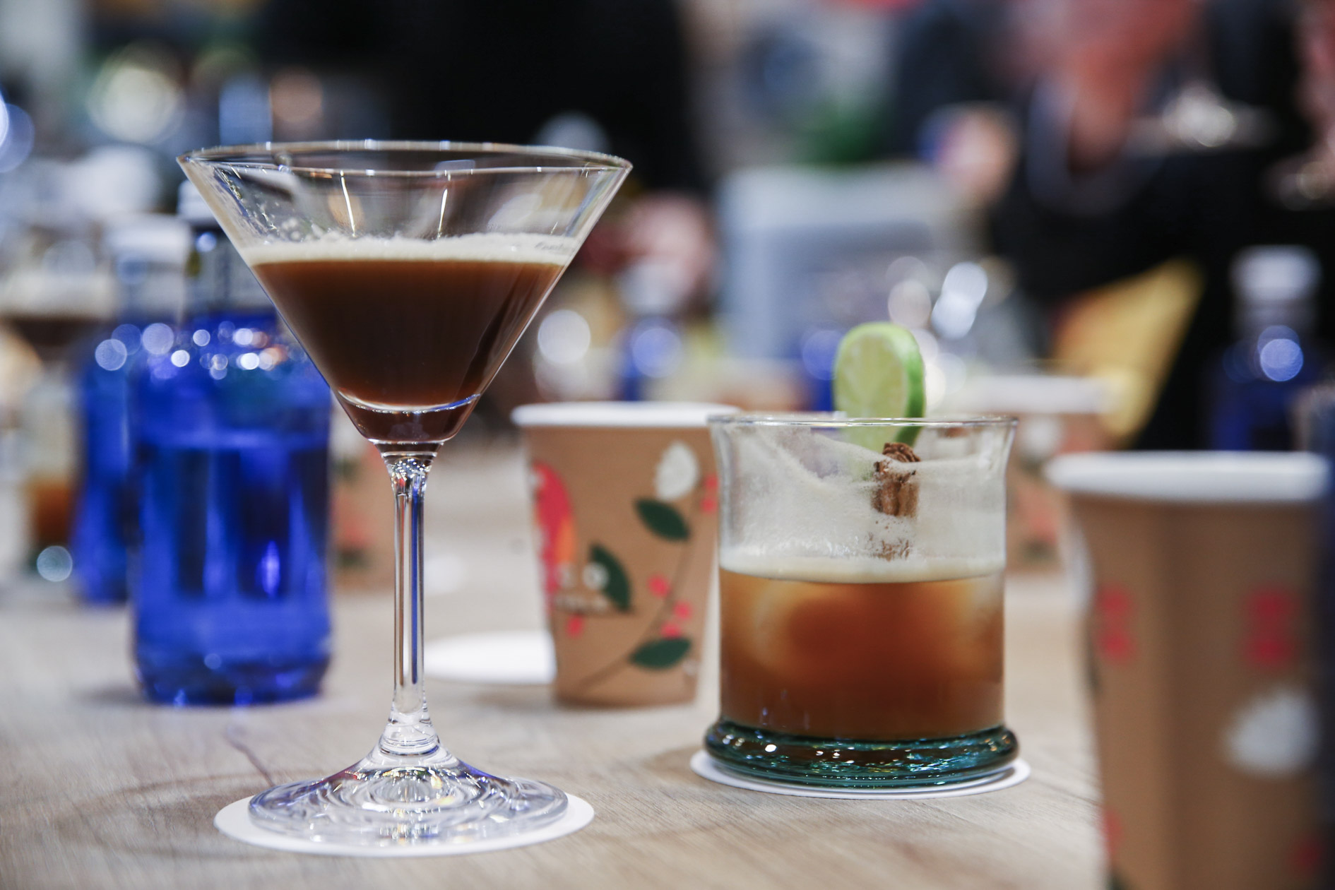 Cata de cocktails de café en FITUR