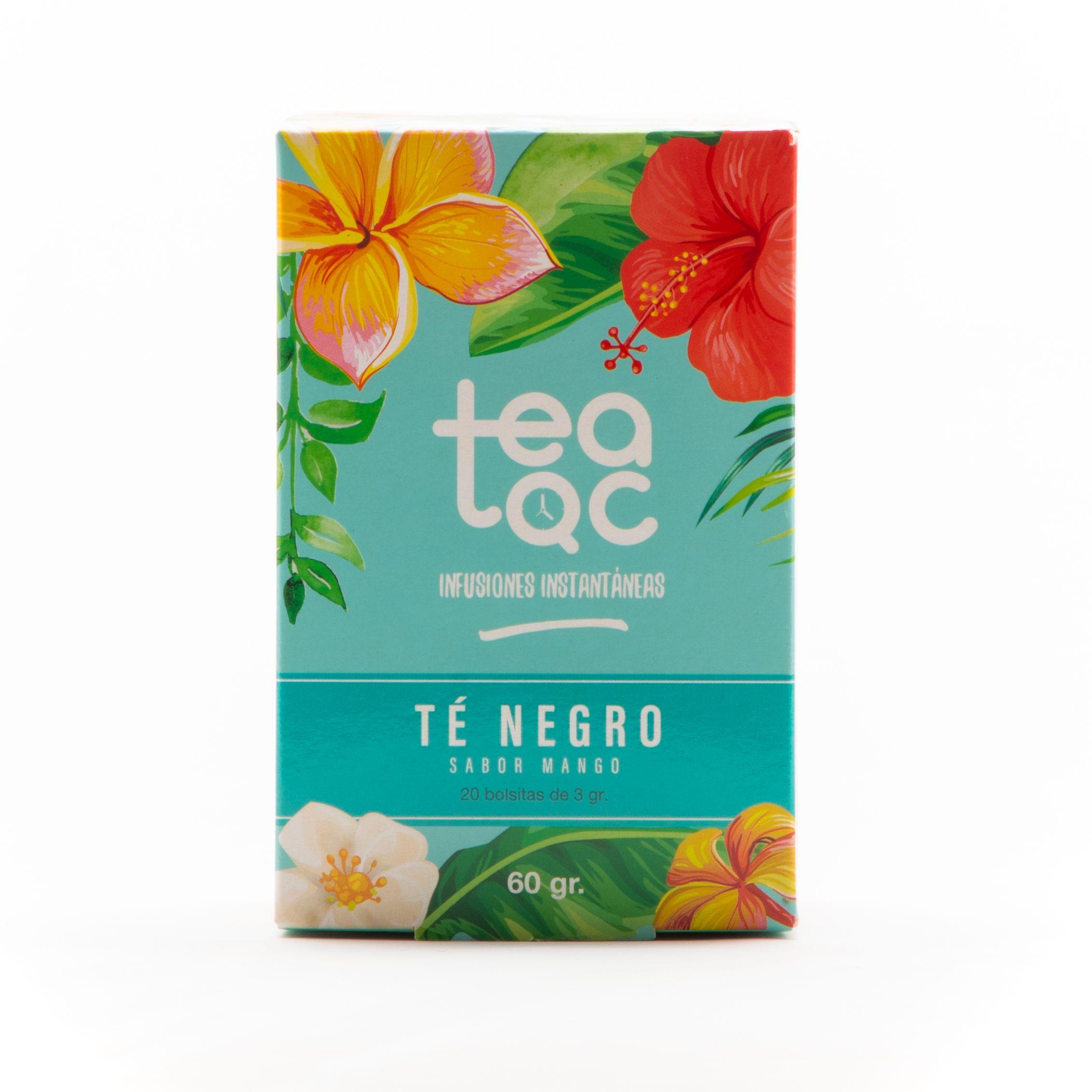 Ice Tea, Té Negro sabor Mango, 20 sobres