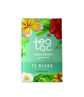 Ice Tea, Te Beltza Mango-zaporearekin, 20 poltsa