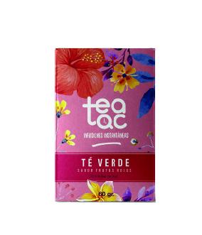 Ice Tea, Té Verde sabor Frutos Rojos, 20 sobres.