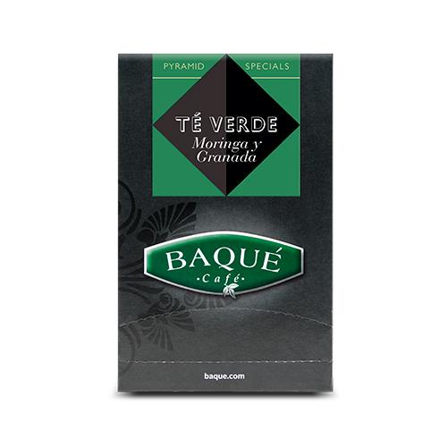 Té Verde Moringa y Granada Estuche, 20 uds.