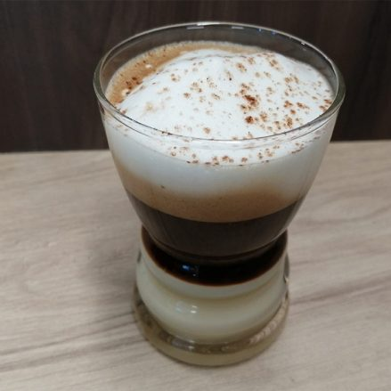Café Extra Intenso Bombón con Crema de leche