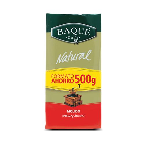 Café molido Natural, 500 g.