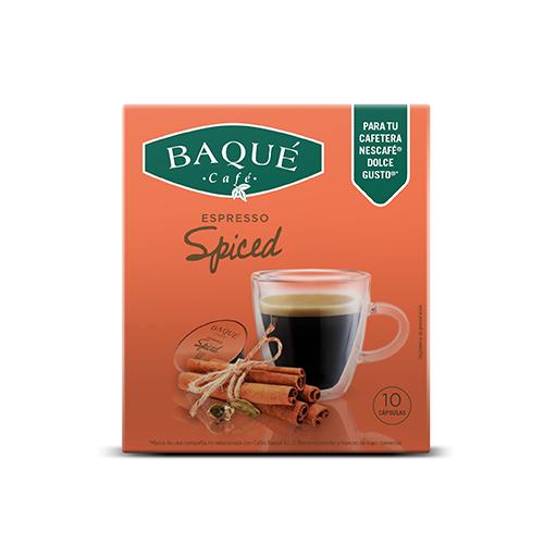 Spiced 10 kapsula bateragarriak Dolce Gusto® kafegailuekin