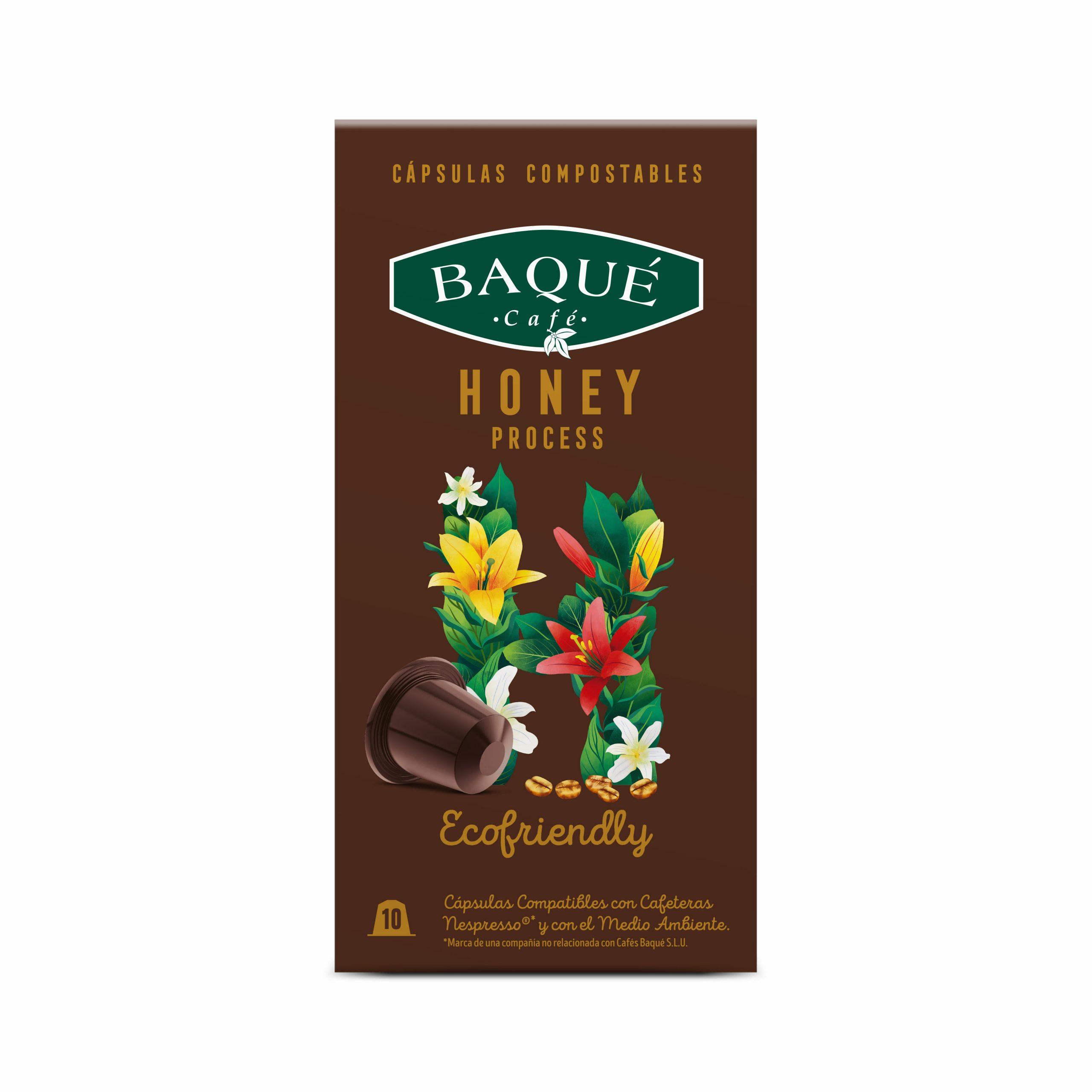 Honey Process 10 cápsulas Compostables compatibles Nespresso®