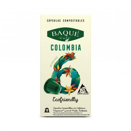 Imagen de cápsula Colombia de baqué