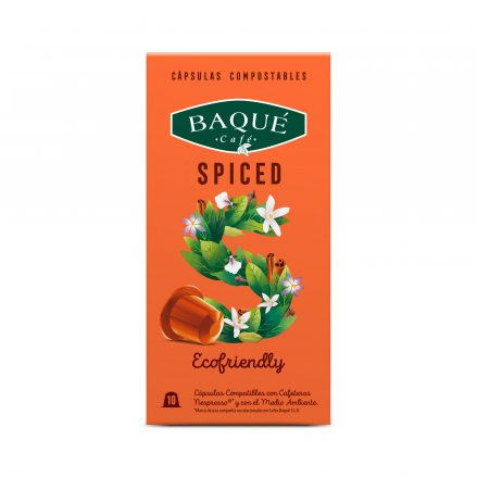 Imagen de cápsula Spiced de baqué