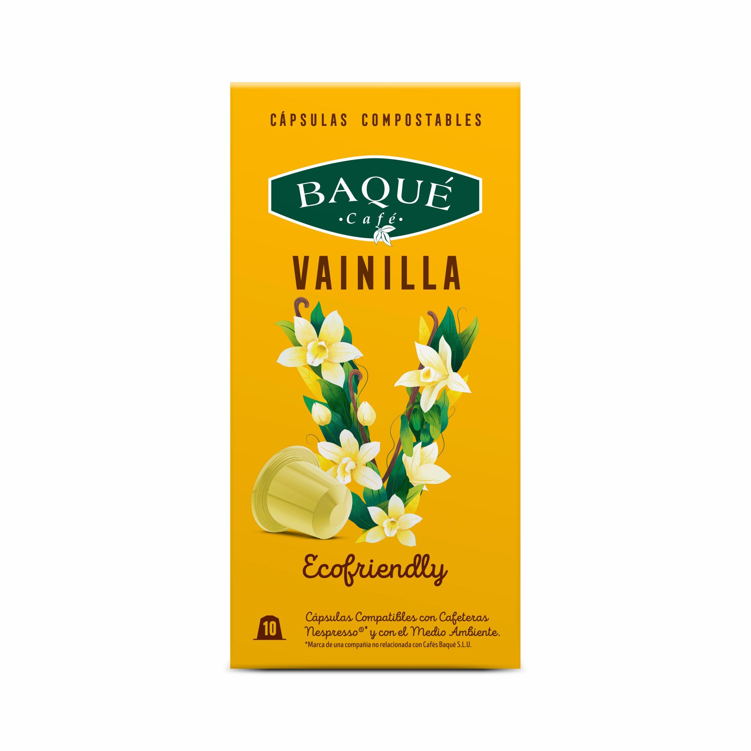 Vainilla 10 cápsulas Compostables compatibles Nespresso®