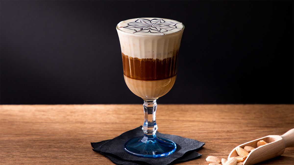 Mocaccino Latte Vainilla con chocolate blanco