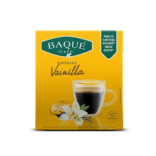 Banilla 10 kapsula bateragarriak Dolce Gusto® kafegailuekin