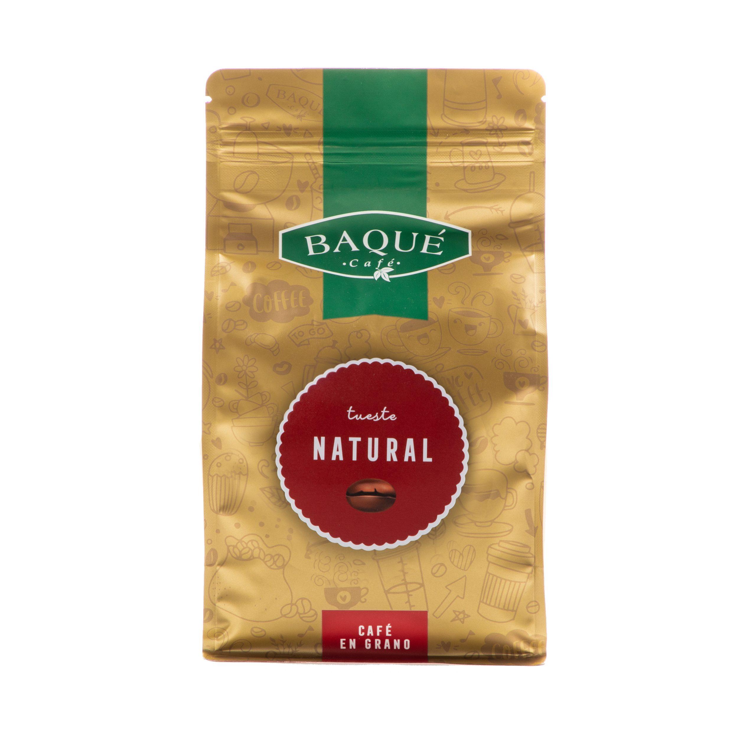 Café en grano Natural, 500 g.