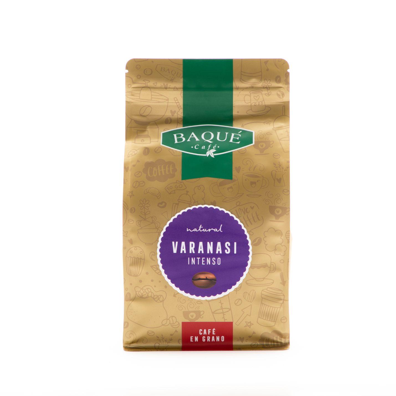 Café en grano Varanasi Intenso, 500 g.