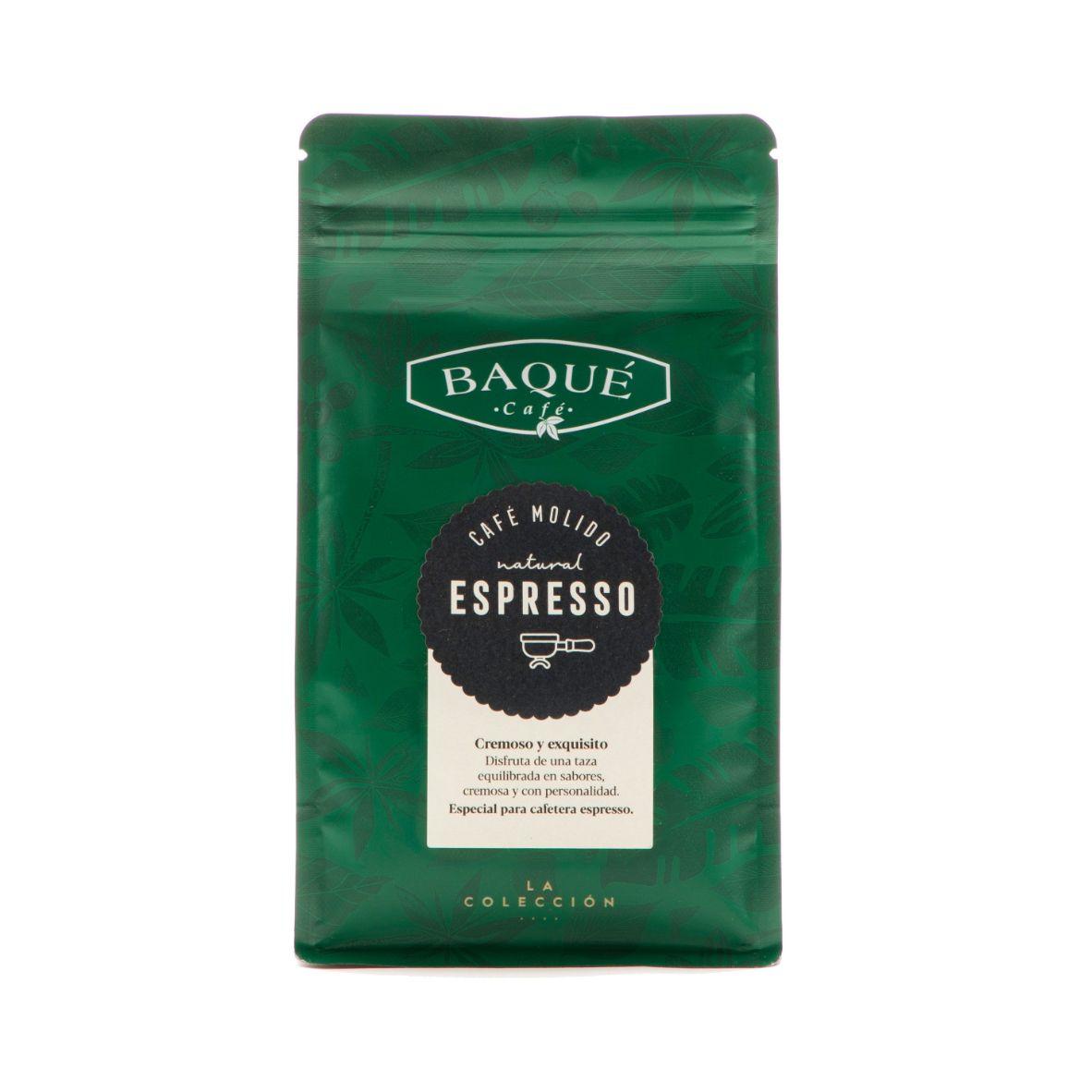 Café molido Espresso Cremoso, 250 g.